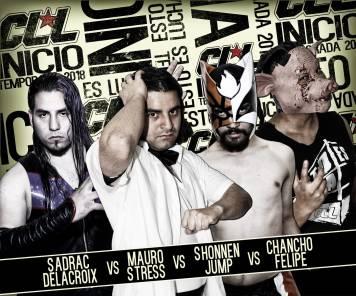 DELACROIX derrotó a Mauro Stress, Shonnen Jump y Chancho Felipe