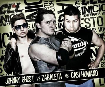 Johnny Ghoist derrotó a Zabaleta y Casi Humano (NUEVO CAMPEÓN)