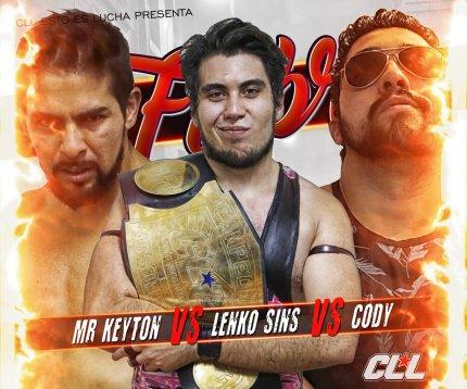 Mr Keyton VS Lenko VS Cody